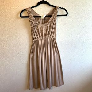 Tan sundress by Max Studio size Small